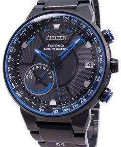 Citizen Eco-Drive Satellite Wave GPS CC3078-81E World Time Men's Watch