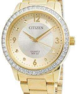 Citizen EL3092-86P Diamond Accents Quartz Women's Watch