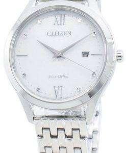 Citizen Eco-Drive EW2530-87A Diamond Accents Women's Watch