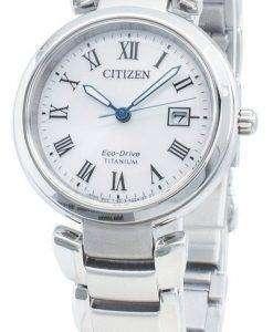 Citizen Eco-Drive Titanium EW2500-88B Women's Watch