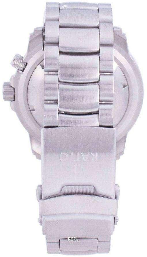 Ratio Free Diver Helium-Safe 1000M Sapphire Automatic 1068HA96-34VA-YLW Men's Watch
