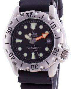 Ratio Free Diver Professional 500M Sapphire Automatic 32BJ202A-BLK Men's Watch