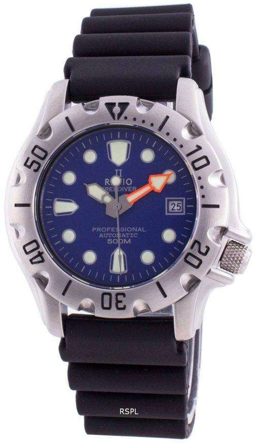 Ratio Free Diver Professional 500M Sapphire Automatic 32BJ202A-BLU Men's Watch