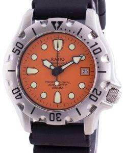 Ratio Free Diver Professional 500M Sapphire Automatic 32BJ202A-ORG Men's Watch