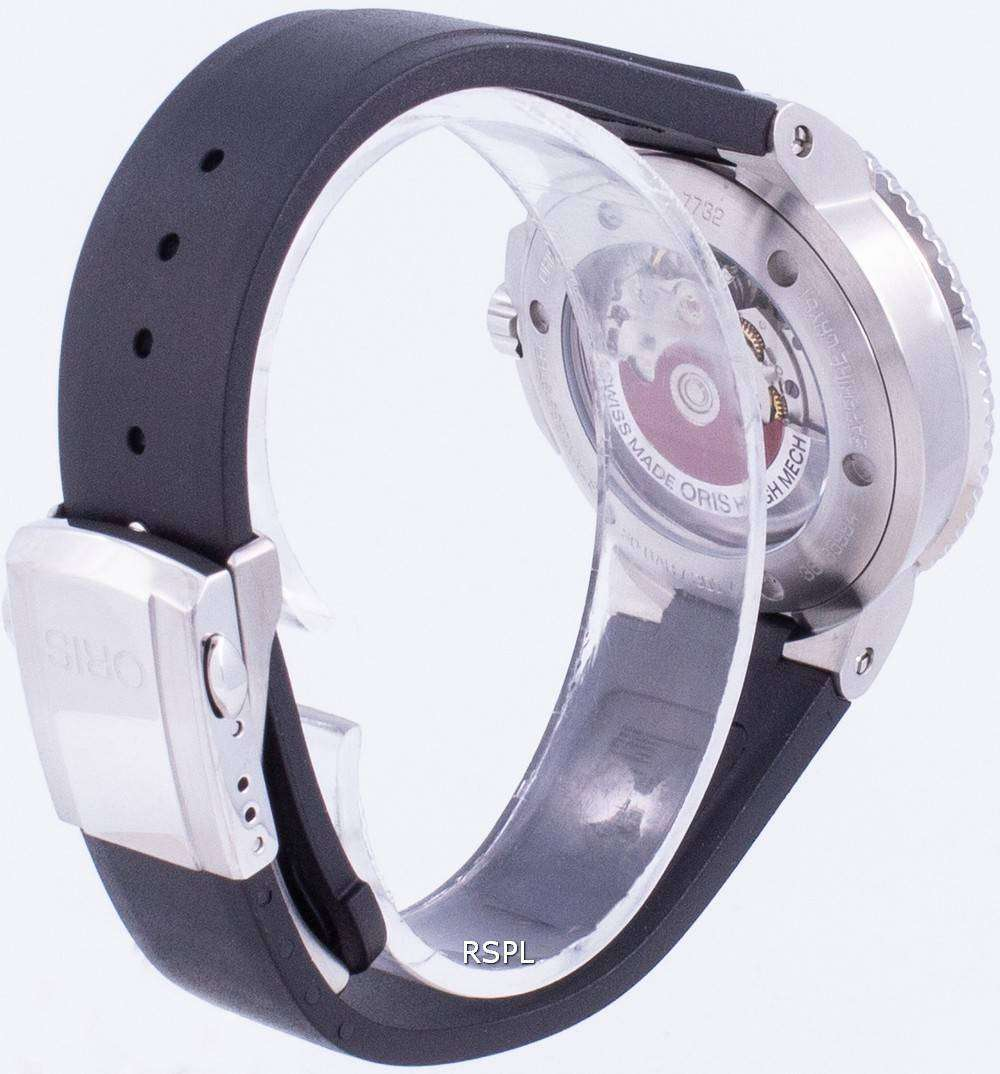 Oris Aquis Date 01-733-7732-4124-07-4-21-64FC Automatic 300M Men's Watch