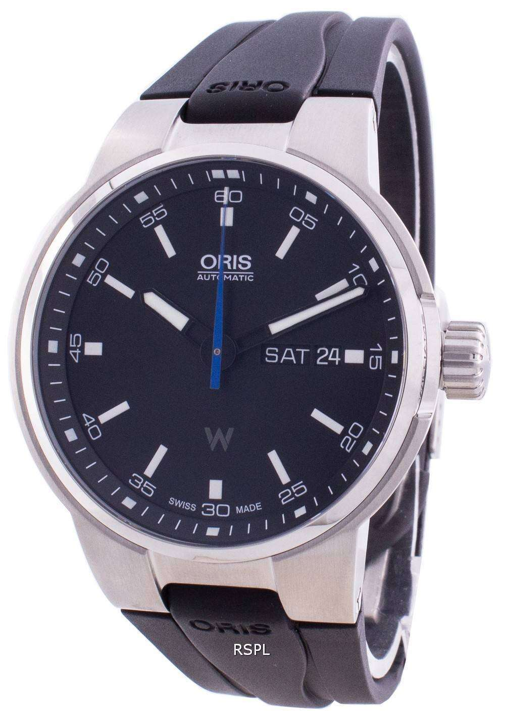 Oris Williams Day Date 01-735-7740-4154-07-4-24-54FC Automatic Men's Watch