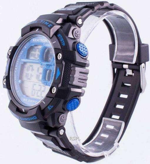 Armitron Sport 408309BLU Quartz Dual Time Men's Watch