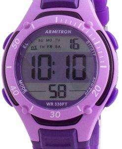 Armitron Sport 457062PUR Quartz Dual Time Women's Watch