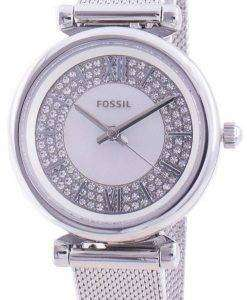 Fossil Carlie Mini ES4837 Quartz Diamond Accents Women's Watch