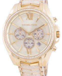 Michael Kors Whitney MK6729 Quartz Diamond Accents Women's Watch