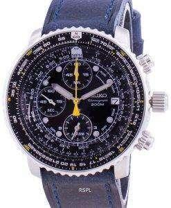 Seiko Pilot's Flight SNA411P1-VAR-LS13 Quartz Chronograph 200M Men's Watch