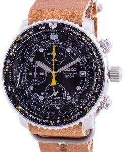 Seiko Pilot's Flight SNA411P1-VAR-LS18 Quartz Chronograph 200M Men's Watch