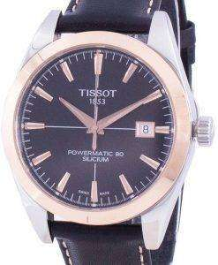 Tissot T-Gold Powermatic 80 Silicium T927.407.46.051.00 T9274074605100 Automatic Men's Watch
