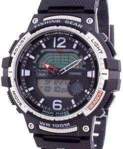 Casio Youth WSC-1250H-1AV Quartz Moon Phase Men's Watch