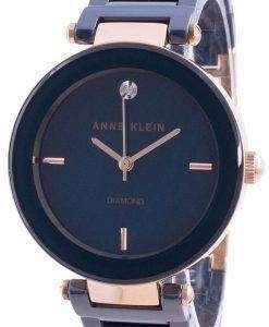Anne Klein 1018RGNV Quartz Diamond Accents Women's Watch