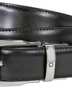 Montblanc 109738 Classic Line Reversible Black/Brown Men's Leather Belt