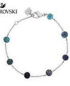 Swarovski 1106432 Pop Blue Purple Crystal Balls Women's Bracelet