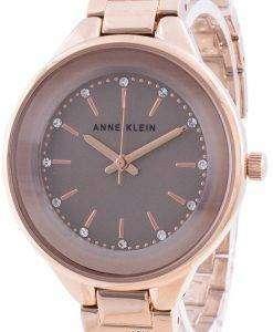 Anne Klein Swarovski Crystal Accented 1408TNRG Quartz Women's Watch