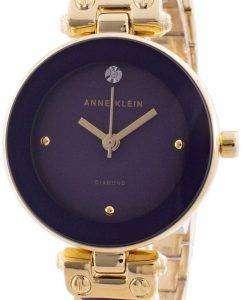 Anne Klein 1980PLGB Quartz Diamond Accents Women's Watch