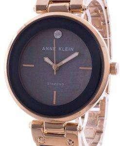 Anne Klein 2512GYRG Quartz Diamond Accents Women's Watch
