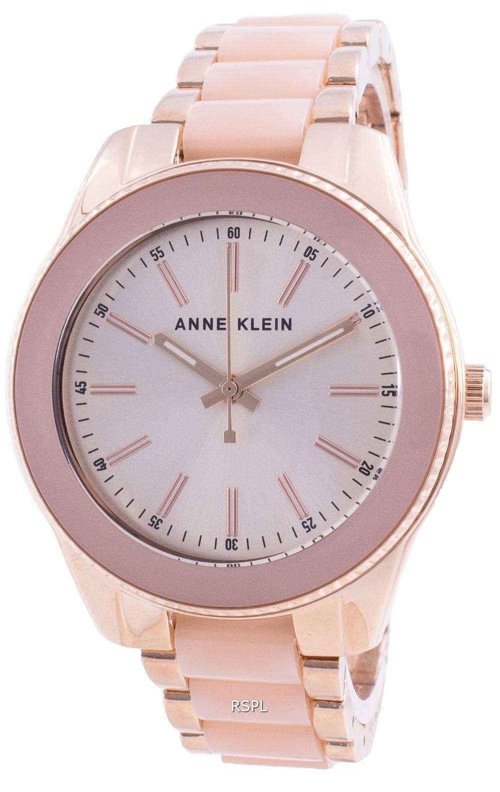 Anne Klein Trend 3214LPRG Quartz 100M Women's Watch