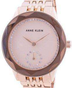 Anne Klein Swarovski Crystal Accented 3506RGRG Quartz Women's Watch