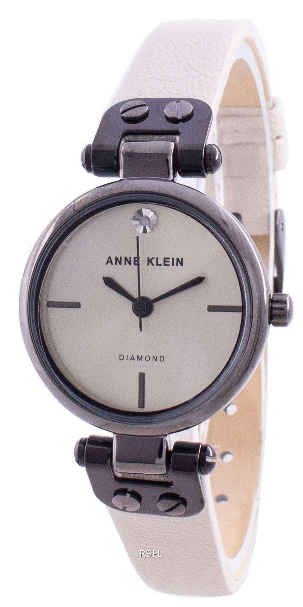 Anne Klein Genuine Diamond 3513GYCR Quartz Women's Watch