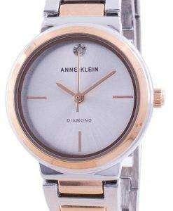 Anne Klein Genuine Diamond 3529SVRT Quartz Women's Watch