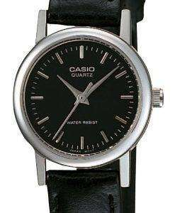 Casio Quartz Analog Black Dial LTP-1095E-1ADF LTP1095E-1ADF Women's Watch