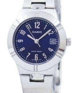 Casio Analog Quartz Blue Dial LTP-1241D-2A2DF LTP-1241D-2A2 Women's Watch