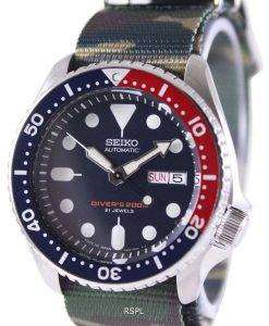 Seiko Automatic Diver's 200M Army NATO Strap SKX009J1-NATO5 Men's Watch