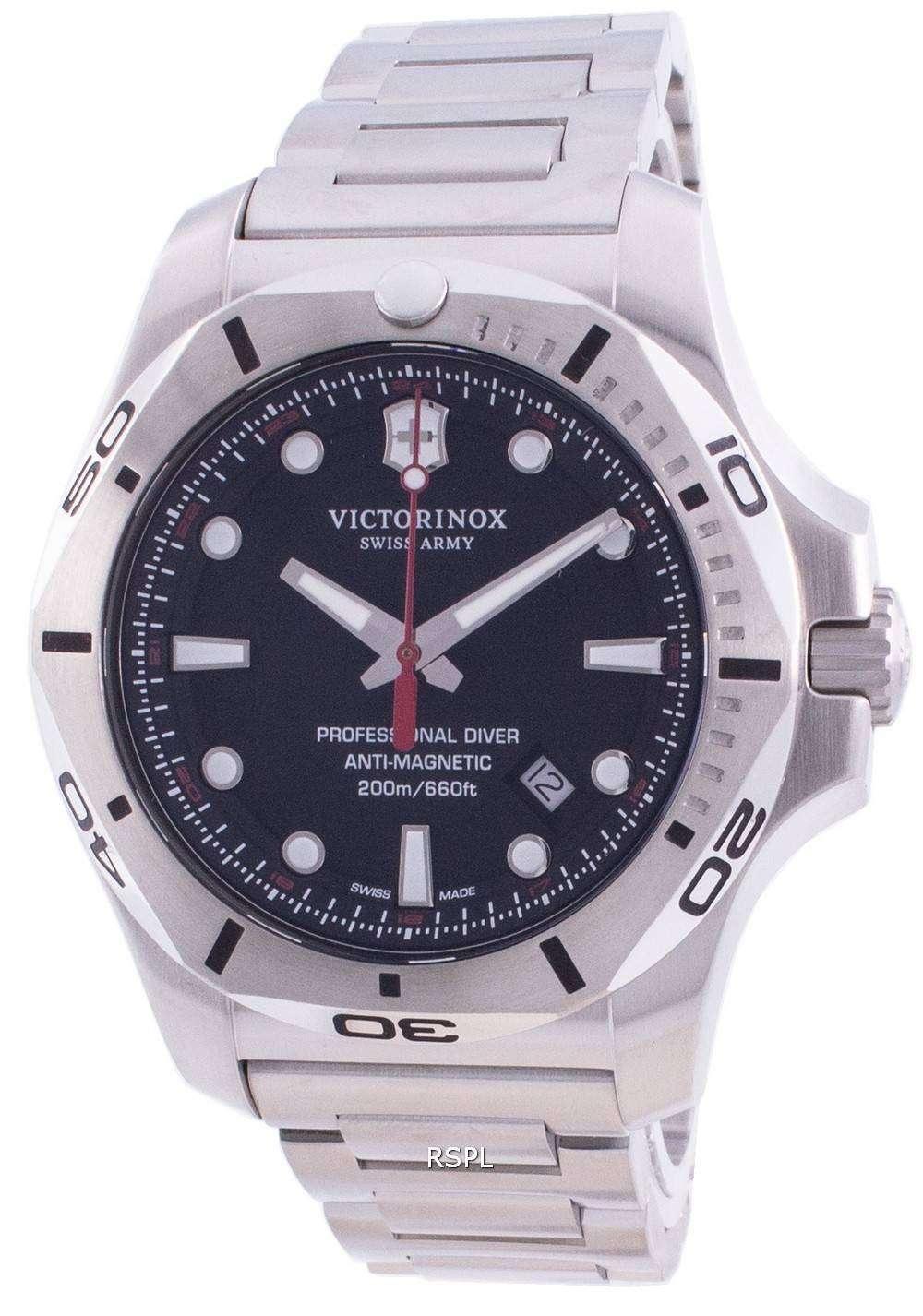 Victorinox Swiss Army I.N.O.X. Professional Diver Anti-Magnetic 241781 Quartz 200M Men's Watch