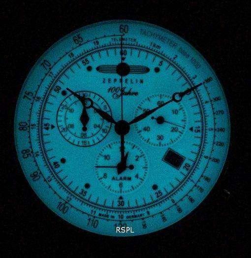 Zeppelin 100 Jahre 8680-3 86803 Quartz Men's Watch