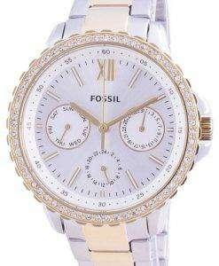 Fossil Izzy Multifunction ES4784 Quartz Chronograph Diamond Accents Women's Watch