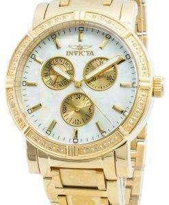 Invicta Wildflower 4743 Quartz Diamond Accents Chronograph 100M Women's Watch