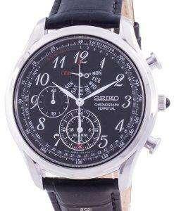 Seiko Chronograph Perpetual SPC255 SPC255P1 SPC255P Quartz Tachymeter Men's Watch