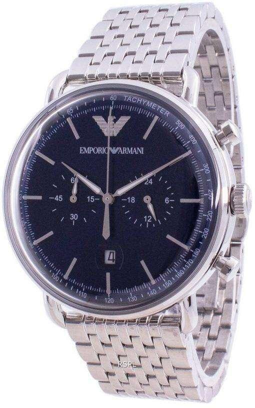 Emporio Armani Aviator Chronograph Quartz AR11238 Mens Watch