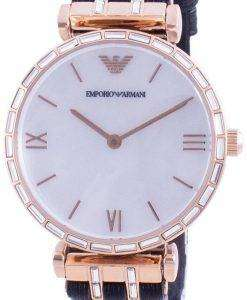 Emporio Armani Gianni T-Bar Mother Of Pearl Dial Quartz AR11295 Womens Watch