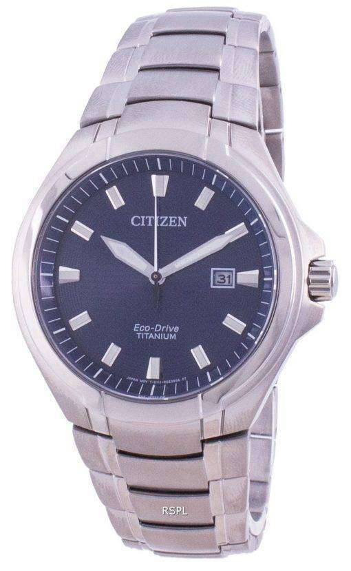 Citizen Eco-Drive Super Titanium BM7430-89L 100M Men's Watch