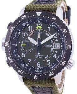 Citizen Promaster Altimeter Eco-Drive BN4048-14X 200M Men's Watch
