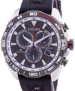 Citizen Promaster Radio Controlled World Time Eco-Drive CB5036-10X 200M Mens Watch