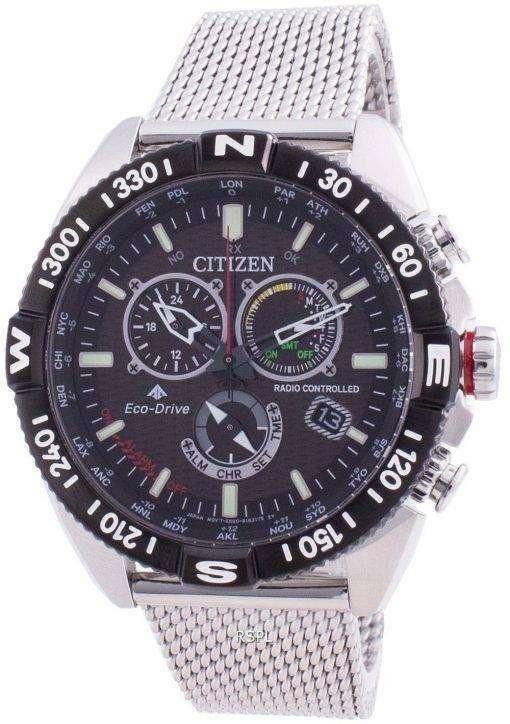 Citizen Promaster Navihawk Eco-Drive Tachymeter CB5840-59E 200M Men's Watch