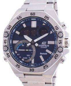 Casio Edifice World Time Mobile Link ECB-10D-2A ECB10D-2 100M Mens Watch