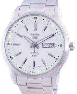 Seiko 5 Automatic White Dial SNKP09 SNKP09K1 SNKP09K Men's Watch