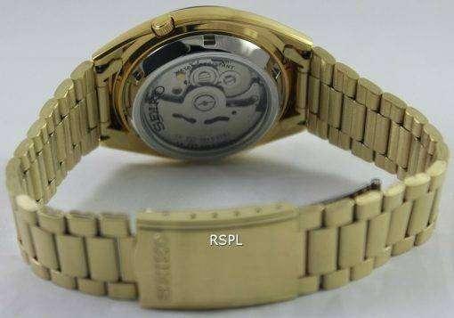 Seiko 5 Automatic Gold Dial SNXL72K1 SNXL72K Men's Watch