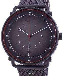 Armani Exchange Rocco Black Dial Quartz AX2902 Men's Watch