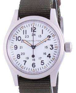 Hamilton Khaki Field White Dial Automatic H69439411 Men's Watch