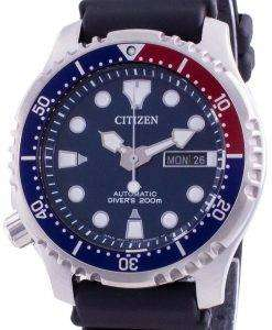 Citizen Promaster Diver's Blue Dial Automatic NY0086-16L 200M Men's Watch