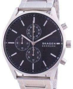 Skagen Holst Chronograph Black Dial Quartz SKW6609 Men's Watch