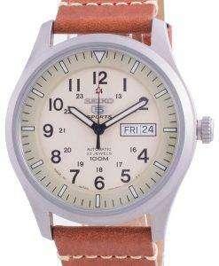 Seiko 5 Sports Military Automatic SNZG07J1-var-LS21 100M Japan Made Men's Watch